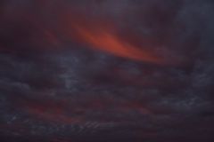 Dreigende wolkenlucht  (Twente)