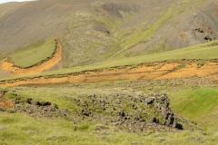 Afgekalfde grond IJsland