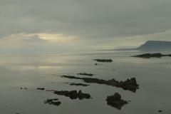 Avondzon aan de kust